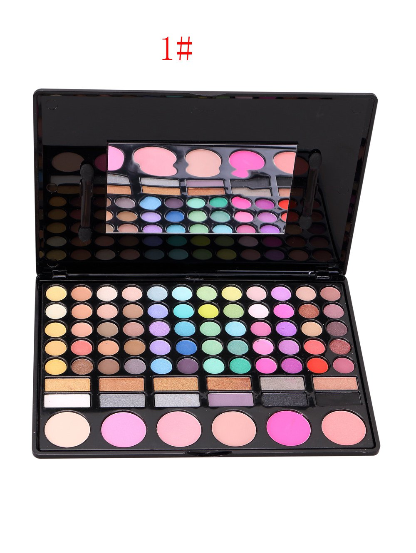 78 Colours Eyeshadow Blush Makeup Palette Kit
