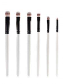 Eye Makeup Brushes Set - White