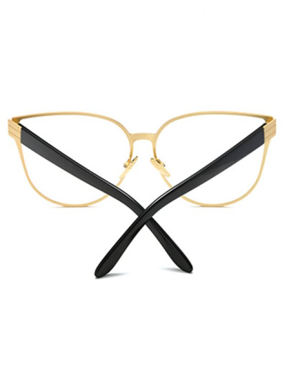 Oversized Butterfly Sunglasses - GOLDEN  Mobile