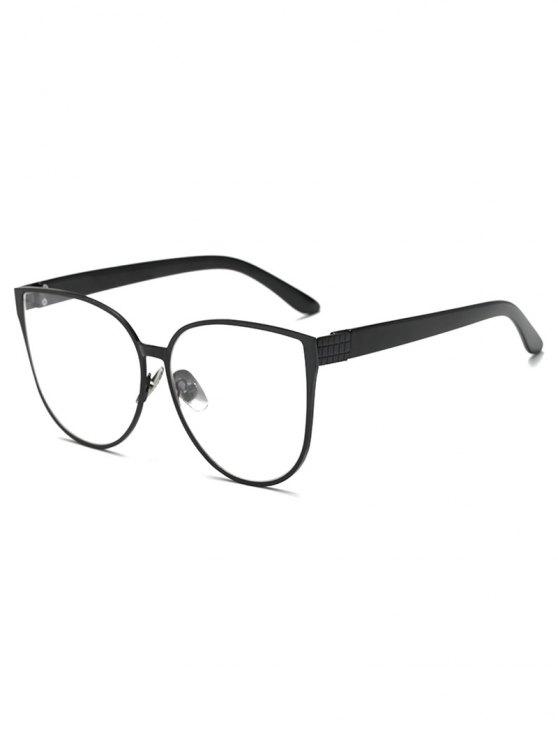 shops Oversized Butterfly Sunglasses - BLACK