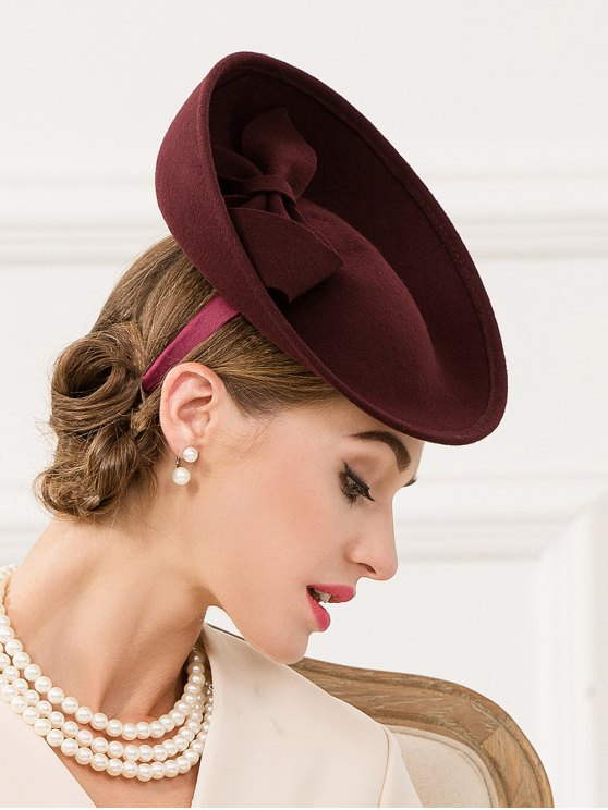 Bowknot Fascinator Cocktail Hat -   Mobile