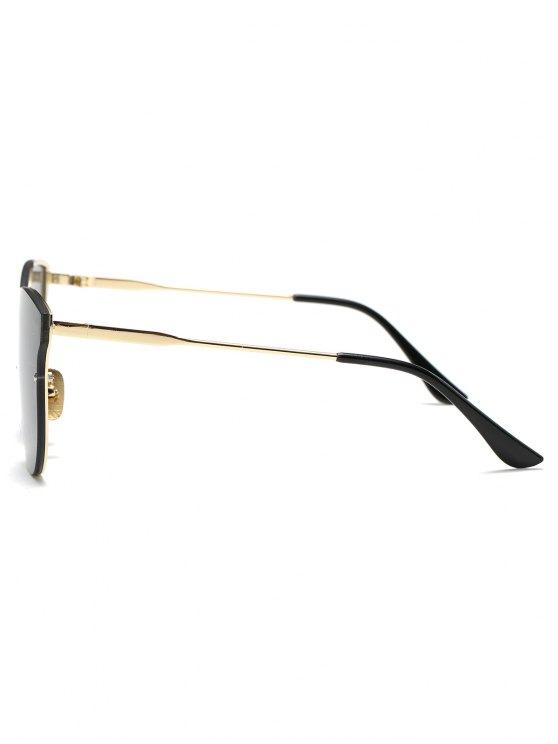 Full Rims Butterfly Sunglasses - BLACK  Mobile