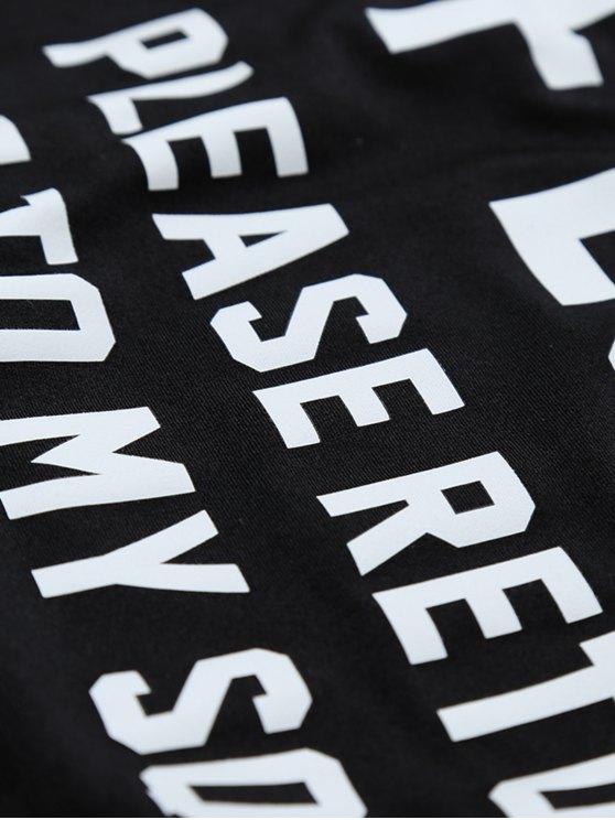 If Lost Letter Swimwear - BLACK XL Mobile