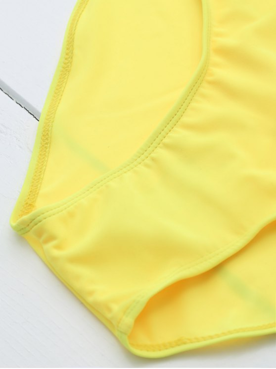 Drunk Spice Swimwear - YELLOW M Mobile