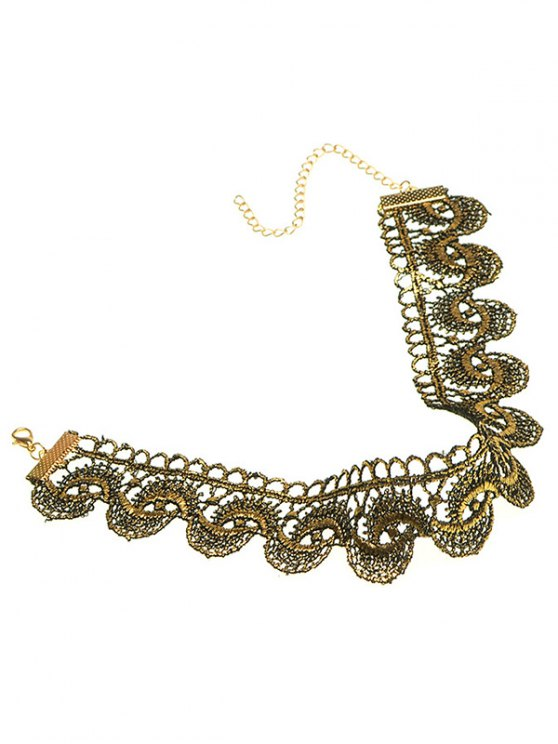 Retro Wide Choker -   Mobile