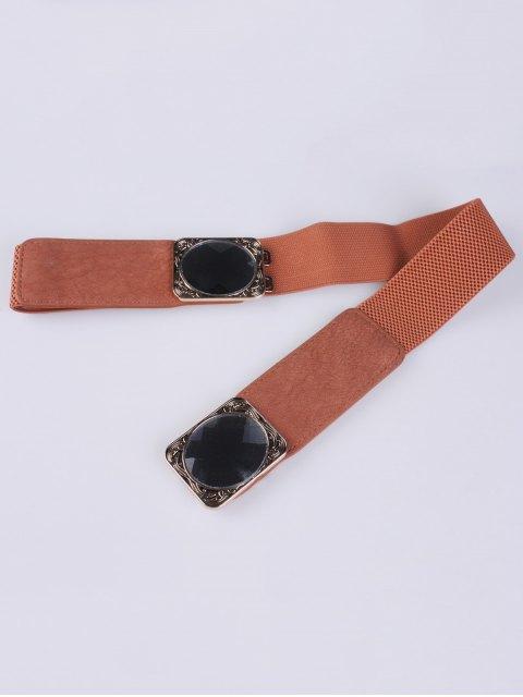 online Faux Opal Elastic Waist Belt -   Mobile