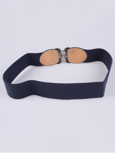 shop Rose Carve Elastic Waist Belt -   Mobile