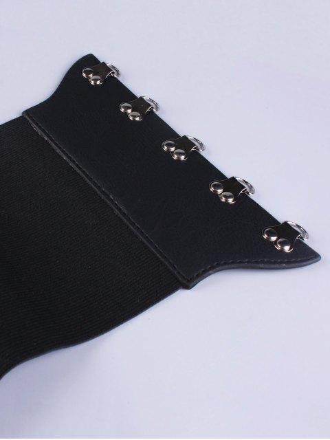 buy Hasp Elastic Corset Belt -   Mobile