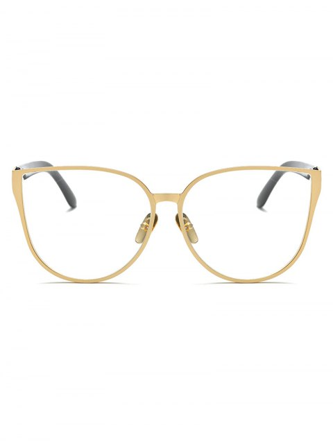 outfits Oversized Butterfly Sunglasses - GOLDEN  Mobile