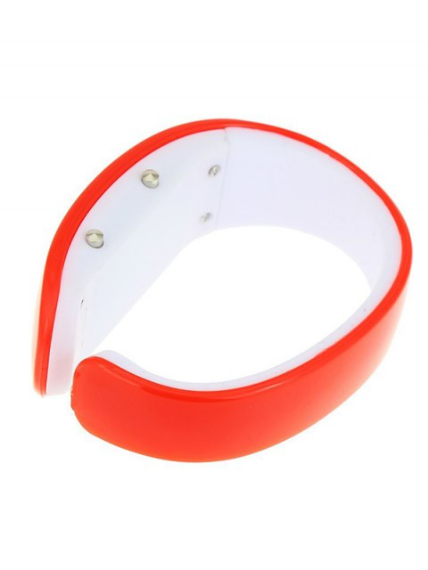 affordable Plastic LED Digital Watch - RED  Mobile