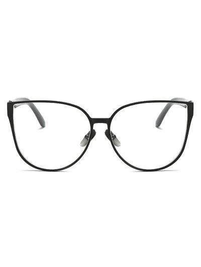 Oversized Butterfly Sunglasses - BLACK  Mobile