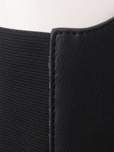 Hasp Elastic Corset Belt - BLACK  Mobile
