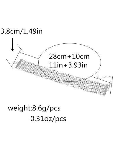 Layered Plastic Choker - SILVER  Mobile