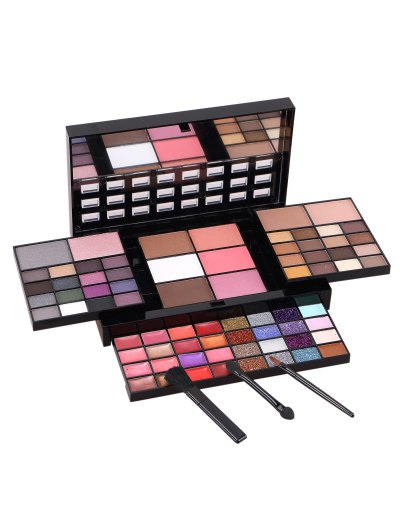 Eyeshadow Blush Lip Gloss Makeup Kit - COLORMIX  Mobile