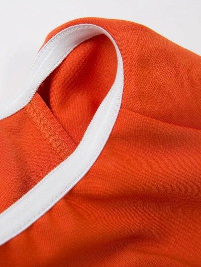 Flounced Off Shoulder Bodycon Dress - JACINTH M Mobile