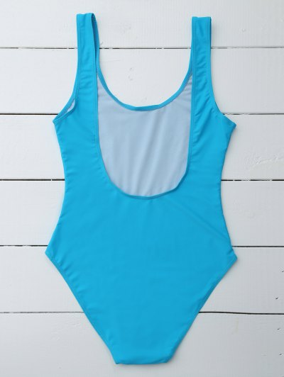 If Lost Letter Swimwear - BLUE S Mobile