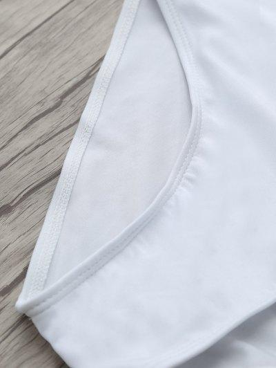 If Lost Letter Swimwear - WHITE L Mobile
