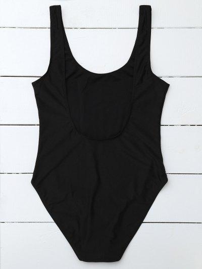 If Lost Letter Swimwear - BLACK L Mobile