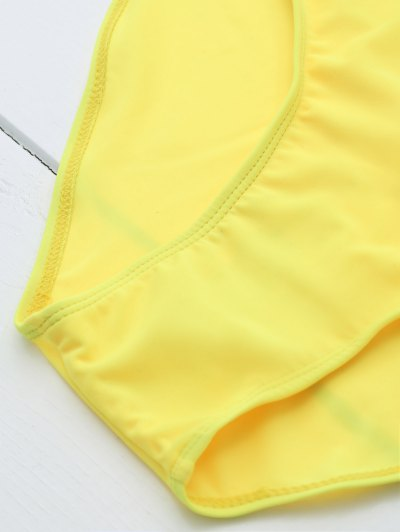 Drunk Spice Swimwear - YELLOW L Mobile