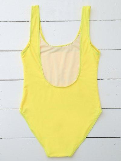 Drunk Spice Swimwear - YELLOW M Mobile