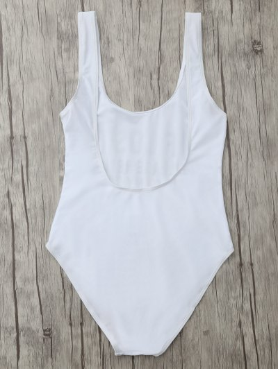 If Lost Letter Swimwear - WHITE XL Mobile