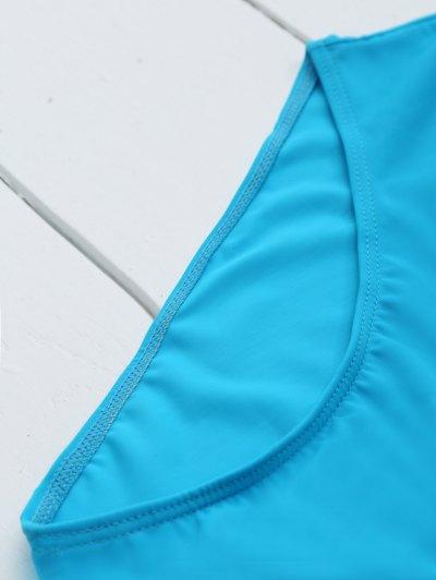 If Lost Letter Swimwear - BLUE M Mobile