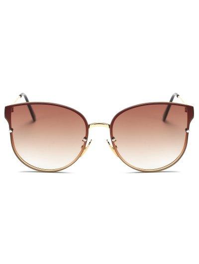 Full Rims Butterfly Sunglasses - TEA-COLORED  Mobile