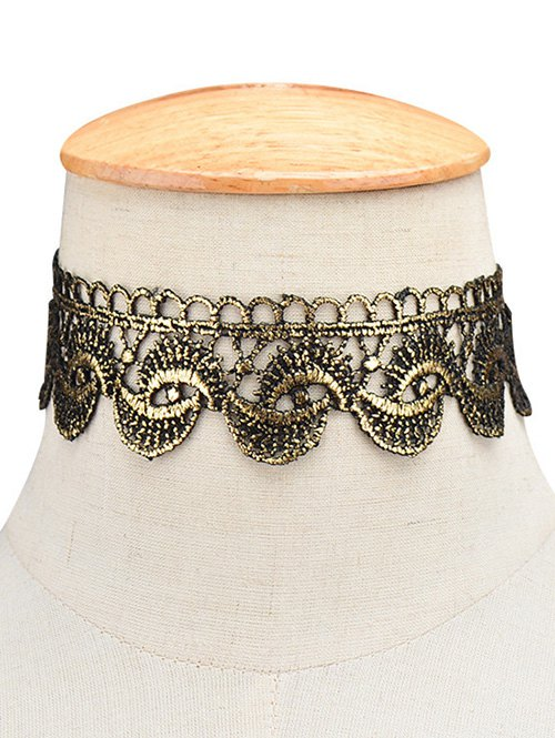 Retro Wide Choker Necklace