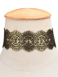 Medallion Wide Choker