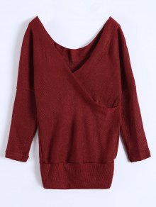 V Neck Cozy Sweater