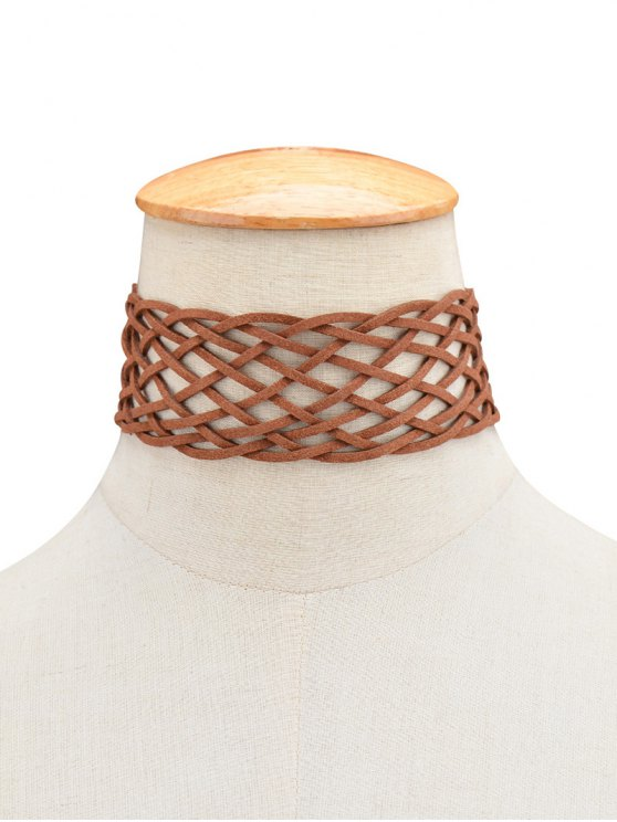 Braided Grid Choker -   Mobile
