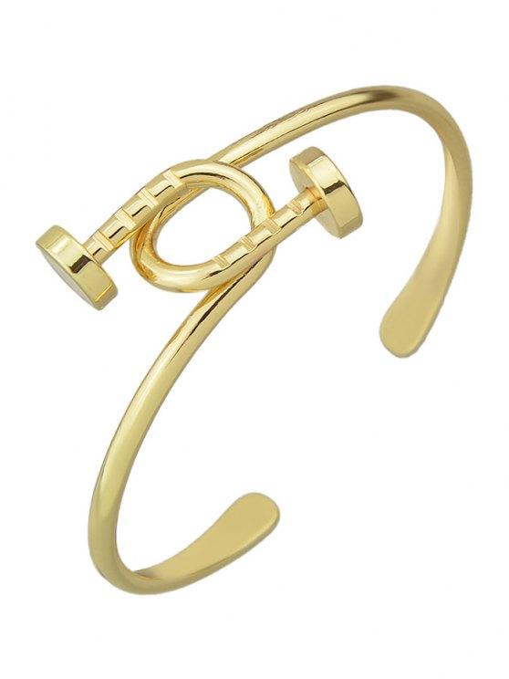 Piton Cuff Bracelet - GOLDEN  Mobile