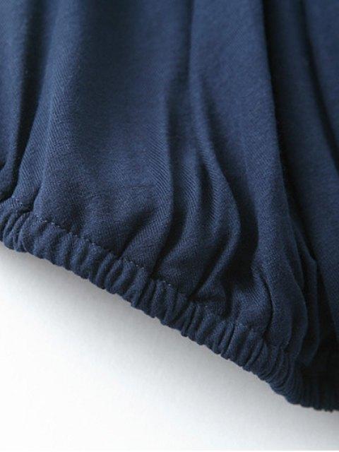 shop V Neck Wrap Cami Top - GRAY M Mobile