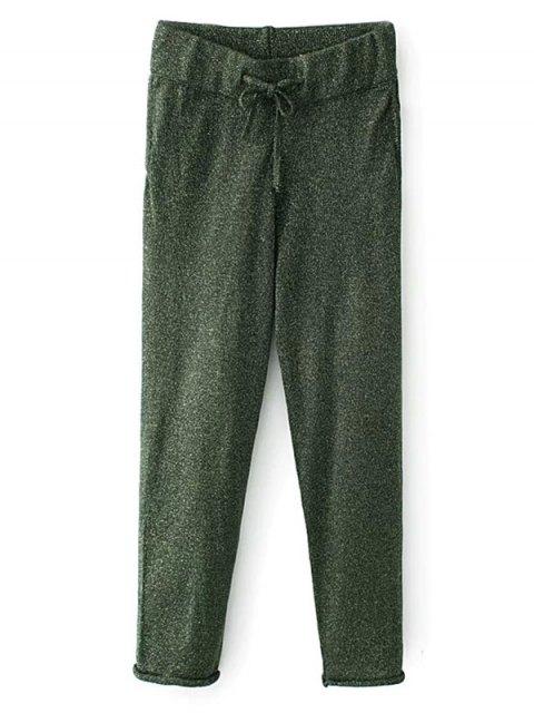 sale Knitted Drawstring Jogging Pants -   Mobile