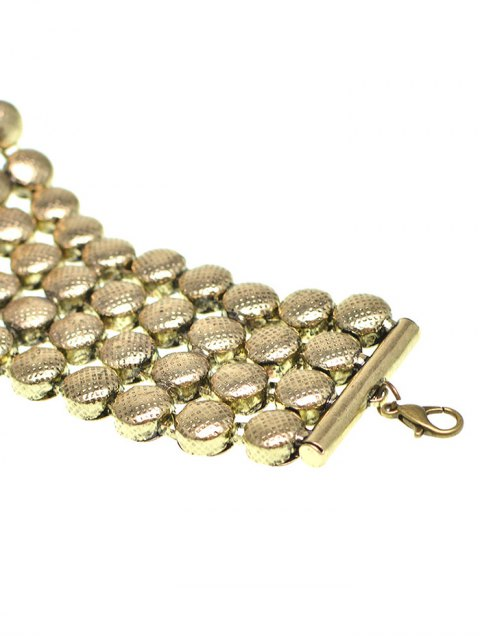 affordable Round Metallic Choker -   Mobile