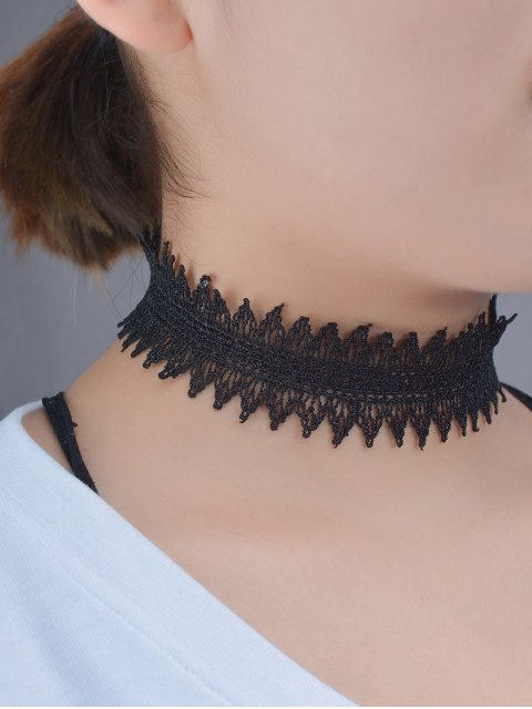 outfits Hollowed Lace Choker -   Mobile