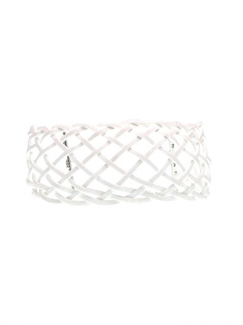 shops Braided Grid Choker -   Mobile