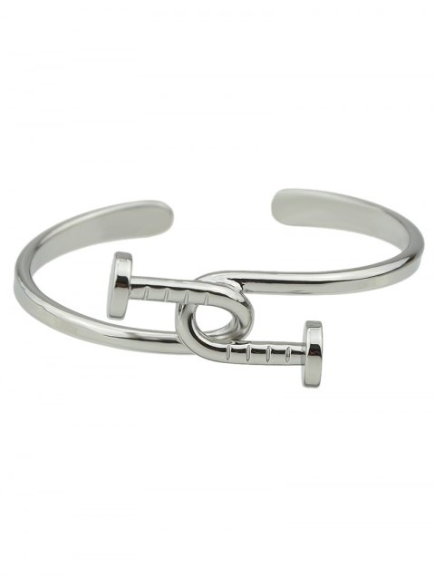outfit Piton Cuff Bracelet - SILVER  Mobile