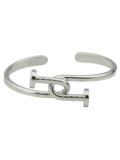 Piton Cuff Bracelet - SILVER  Mobile