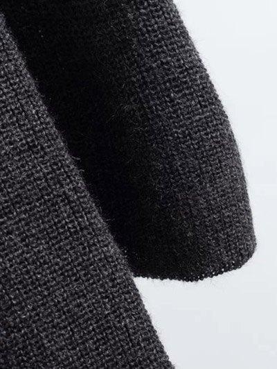 Long Sleeve Knitting Midi Dress - GINGER ONE SIZE Mobile