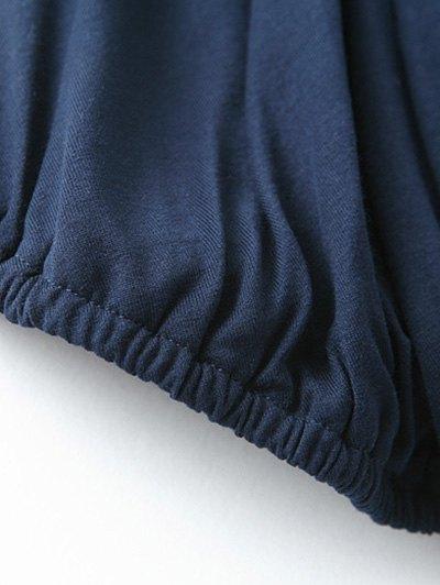 V Neck Wrap Cami Top - GRAY L Mobile