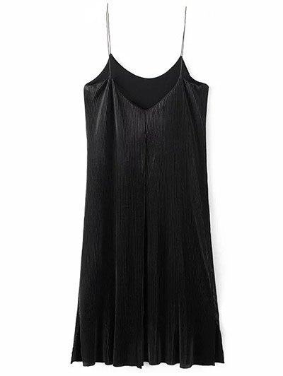 Vintage Ruched Midi Dress