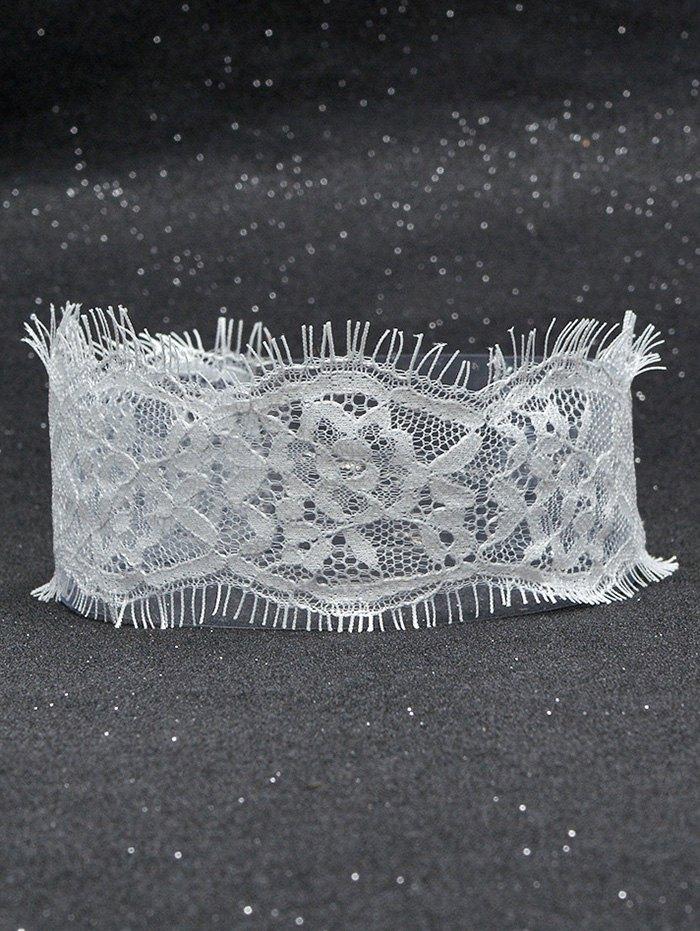 Eyelash Lace Choker Necklace