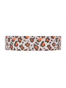 Leopard Cloth Choker