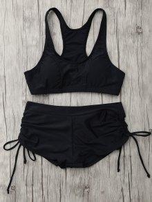 Lace Up Padded Sporty Bikini Set