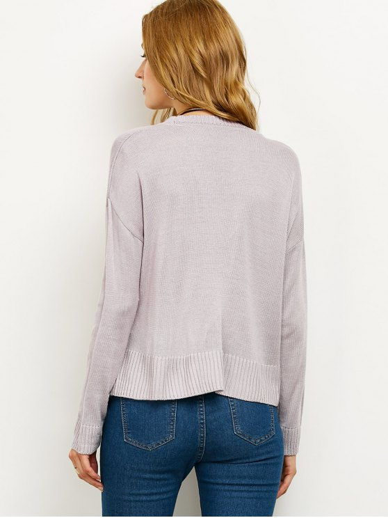 V Neck Surplice Jumper - SMASHING S Mobile