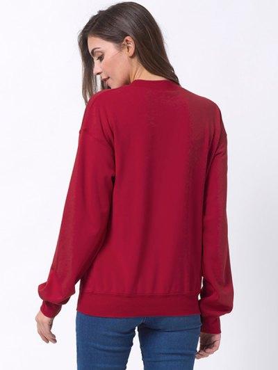 Days Till Christmas Sweatshirt - RED 2XL Mobile