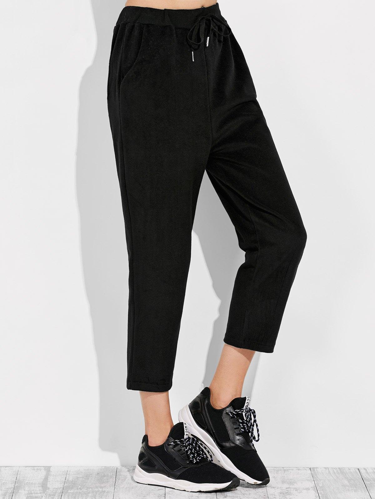 Casual Drawstring Pants