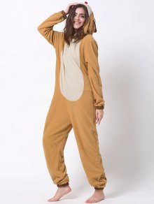 Cartoon Costumes Reindeer Pajamas