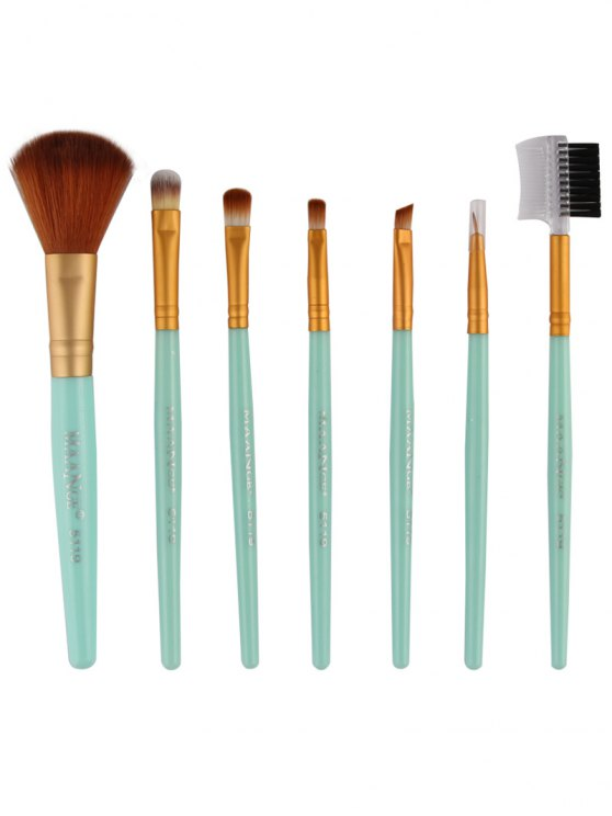 7 Pcs Makeup Brushes Set -   Mobile